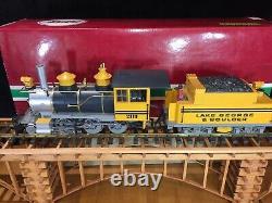 LGB 2119D Lake George and Boulder 2-6-0 Mogul Steam Locomotive Box G Scale