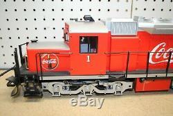 LGB 23560 Coca-Cola Alco Diesel Locomotive G-Scale