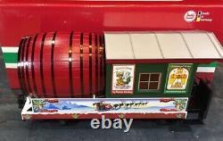 LGB 31420 Lehmann G Scale Christmas Barrel Beer Keg Trail Rail Car