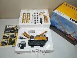 Liebherr HS 855 HD Crawler Crane/Dragline NZG 150 Scale Diecast Model #728 New