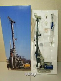 Liebherr LB 28 Litronic Drilling Rig Kibag NZG 150 Scale Model #783/03 New