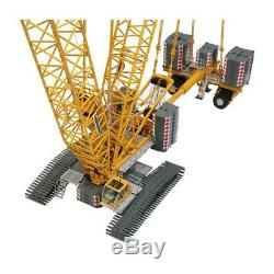 Liebherr LR1600-2 Crane with Derrick Rig (Yellow) NZG 150 Scale Model #843 New