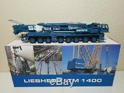 Liebherr LTM1400 Mobile Crane Sarens YCC 150 Scale Model #YC790-2 New