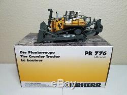 Liebherr PR 776 Crawler Dozer (Yellow) by WSI 150 Scale Model #64-2000 New