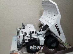 Liebherr T282B Mining Haul Truck White Conrad 150 Scale Model #2727/0