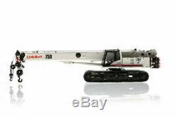 Link-Belt TCC-750 Crawler Crane Tonkin 150 Scale Diecast Model #LB120700 New