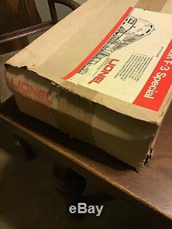 Lionel O Scale 6-1450 D&rgw F-3 Diesel Service Station Freight Set Sealed Box