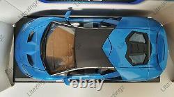MAISTO 118 Scale Diecast Model Car Lamborghini Centenario in Blue