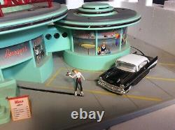 MTH Rail King O Scale Mel's Operating Drive In Diner #30-9105 BOX, SHIPPING BOX