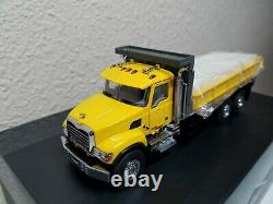 Mack Granite Flatbed Truck Yellow Sword 150 Scale Model #SW2102-Y New