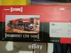 Mammoet Liebherr LTM1400 Mobile Crane YCC 1/50 scale