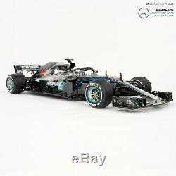 Mercedes AMG Petronas Lewis Hamilton 18 Scale Model Car Limited Edition
