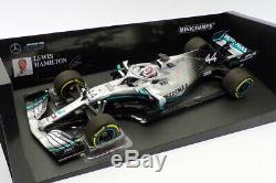 Minichamps 1/18 Scale 110 190044 F1 Mercedes AMG Petronas #44 L. Hamilton 2019