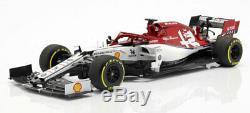 Minichamps 110190007 Alfa Romeo C38 #7 2019 Kimi Raikkonen 1/18 Scale