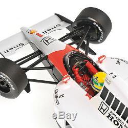 Minichamps McLaren Honda MP4/6 #1 1991 World Champion Ayrton Senna 1/18 Scale