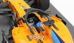 Minichamps McLaren MCL33 #14 Abu Dhabi GP 2018 Fernando Alonso 1/18 Scale
