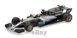 Minichamps Mercedes W08 Mexican GP 2017 World Champion Lewis Hamilton 1/43 Scale