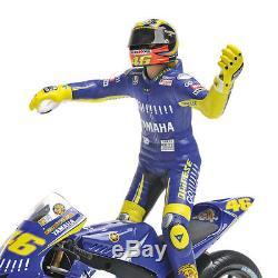 Minichamps Valentino Rossi Bike/Figurine Yamaha Donington 2005 1/12 Scale