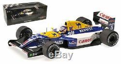 Minichamps Williams Renault FW14B 1992 Nigel Mansell World Champion 1/18 Scale