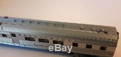 N Scale KATO'EMD E5A & Silver Streak Zephyr 6 Unit Set' DCC Ready Item #106-090
