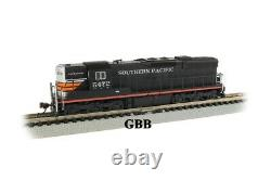 N Scale SD9 SOUTHERN PACIFIC BLACK WIDOW DCC & SOUND Equipped Locomotive 62351