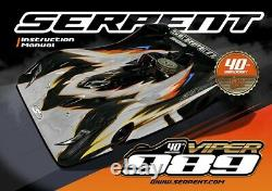 NEW limited edition Serpent VIPER 989 40th anniversary 1/8 GP SER903019 kit