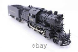 NJ Custom Brass HO Scale Reading 4-6-0 Class L7sb Camelback Custom Painted #611