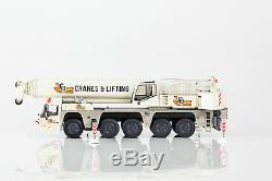 NZG AUSTRALIAN Terex AC200-1 Mobile Crane CQ Group by Drake Diecast Scale 150