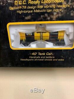 Norscot Caterpillar HO Scale Train Set, NIB, Limited Edition 4079 of 5500