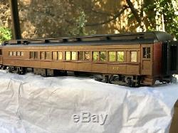 O Scale Fischer Pennsy PRR Passenger Cafe Coach 2R Brass-Like quality STUNNING