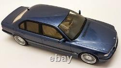 Otto 1/18 Scale Alpina B12 6.0 BMW (E38) Blue Metallic Resin Model Car