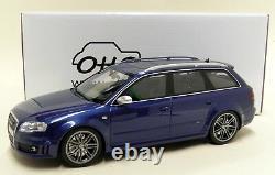 Otto 1/18 Scale Audi RS4 Avant B7 Sepang Blue Resin Model Car