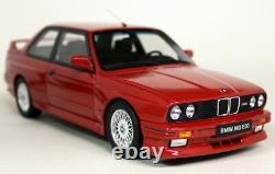 Otto 1/18 Scale BMW M3 E30 1989 Red Resin Model Car