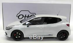 Otto 1/18 Scale OT257 Renault Clio RS MK4 Pearl White Resin Model Car