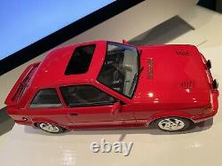 Otto Models 1/18 Scale Ford Escort RS Turbo MK4 Red Resin Model Car