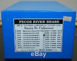 Pecos River Brass Santa Fe O Scale 2 rail Caboose #999246