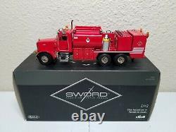 Peterbilt 357 Elliott Fuel & Lube Truck Red Sword 150 Scale #SW2041-R New