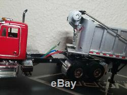 Peterbilt 357 with East Dump Trailer Red Sword 150 Scale Model #SW2044-R New