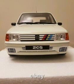 Peugeot 205 Rallye Ltd Edn 112 Scale Otto Models Resin 1/12th Not 118! Euro