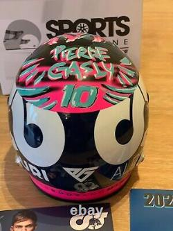 Pierre Gasly Austria SIGNED 12 Scale helmet. Ltd to 100pcs. SOLD OUT F1 Redbull