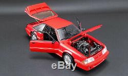 Red 1993 Ford Mustang Gt Gmp 118 Scale Diecast Model Pre Order