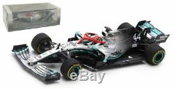Spark S6087 Mercedes F1 W10 Winner Monaco GP 2019 Lewis Hamilton 1/43 Scale