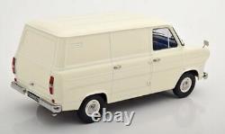 Superb Kk Scale 1/18 Diecast 1965 Ford Transit Van White/cream/ivory Kkdc180493