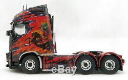 Tekno 71289 Volvo Globetrotter XL 6x4 K S EASTER Pegasus Show Truck Scale 150