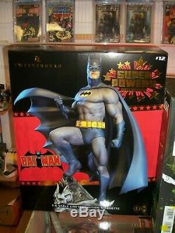 Tweeterhead DC Super Powers BATMAN 1/6 Scale Limited Edition Maquette NEW