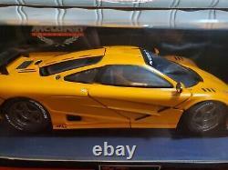 UT Limited 1996 McLaren F1 GTR 118 Scale Diecast Model Orange Road Car