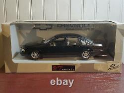 UT Models 1996 Chevy Impala SS 118 Scale Diecast Model Car Black Chevrolet