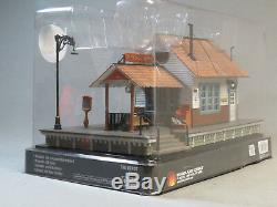 WOODLAND SCENICS O SCALE THE DEPOT BUILT & READY O GAUGE building train WDS5852