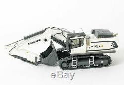 WSI 04-1156 Liebherr R970 SME Tracked Excavator White Scale 150