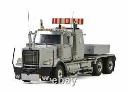 WSI 34-2006 Western Star 4900 6x4 Prime Mover and Ballast Box Silver Scale 15